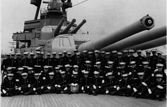 Marine Detachment - Image: Marine Detachment aboard the USS Augusta (CA 31) in the 1930s