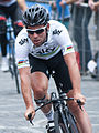 Mark Cavendish Tour de France 2012, Warm up (cropped).jpg