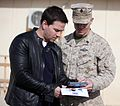 Mark Wahlberg visits US troops in Afghanistan.jpg