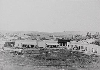 Church Square, Pretoria - Image: Market square 1881