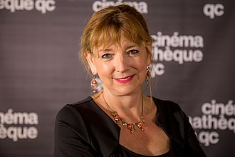 Marquise Lepage - Marquise Lepage at the cinémathèque québécoise in 2018