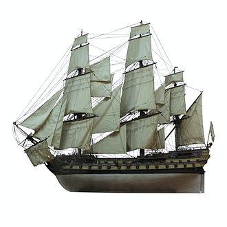 French ship Vengeur du Peuple - the Vengeur du Peuple
