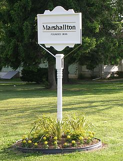 Marshallton, Delaware Unincorporated community in Delaware, United States