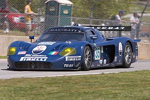 Risi Competizione - Under the Maserati Corse name, Risi ran a Maserati MC12 in the GT1 class of the American Le Mans Series.