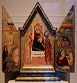 Maso di banco, maestà e santi, natività e crocifissione, 1335-50 ca. 01.jpg