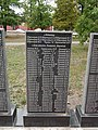 Mass grave of Soviet soldiers and memorial sign to compatriots in Shevchenkove settlement, Kharkiv Oblast by Venzz 24.jpg