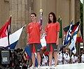 Matematička gimnazija - Mathematical Gymnasium Belgrade - First Youth Olympic Games - Singapore - Luka Milićević from MGB.jpg