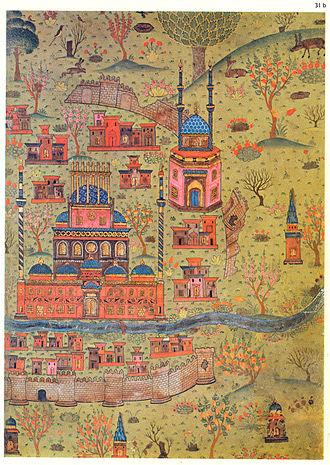 Matrakçı Nasuh - Image: Matrakçı Nasuh Soltaniyeh Map (1)