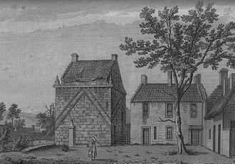Mauchline - Mauchline Castle in 1790