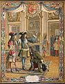 Maurice Leloir Le Roy Soleil Le duc d'Anjou proclamé roi d'Espagne.jpg