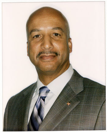 English: Photographic portrait of Mayor Nagin ...
