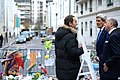 Mayor of 11th Arrondissement Vaughn Explains to Secretary Kerry and French Foreign Minister Fabius How the Attack on the Headquarters of the French Satirical Magazine Charlie Hebdo Unfolded (15672381823).jpg