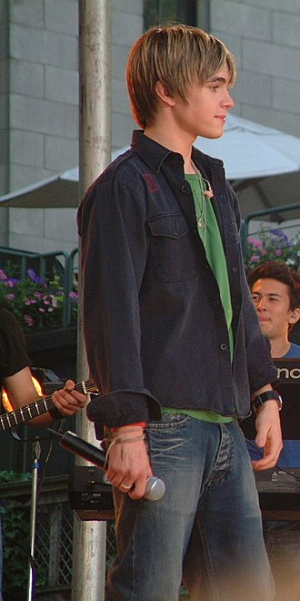 Jesse McCartney - McCartney at a Bryant Park performance, June 23, 2005