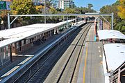 Meadowbank rail, sydney