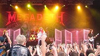 Symphony of Destruction - Megadeth playing Symphony of Destruction live in Haapsalu, Estonia in 2010.