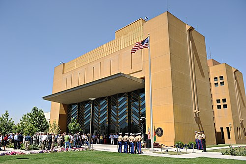 US Embassy in Kabul., From WikimediaPhotos