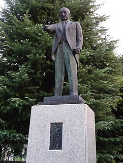 Memorial statue of Masanobu Tsuji.JPG