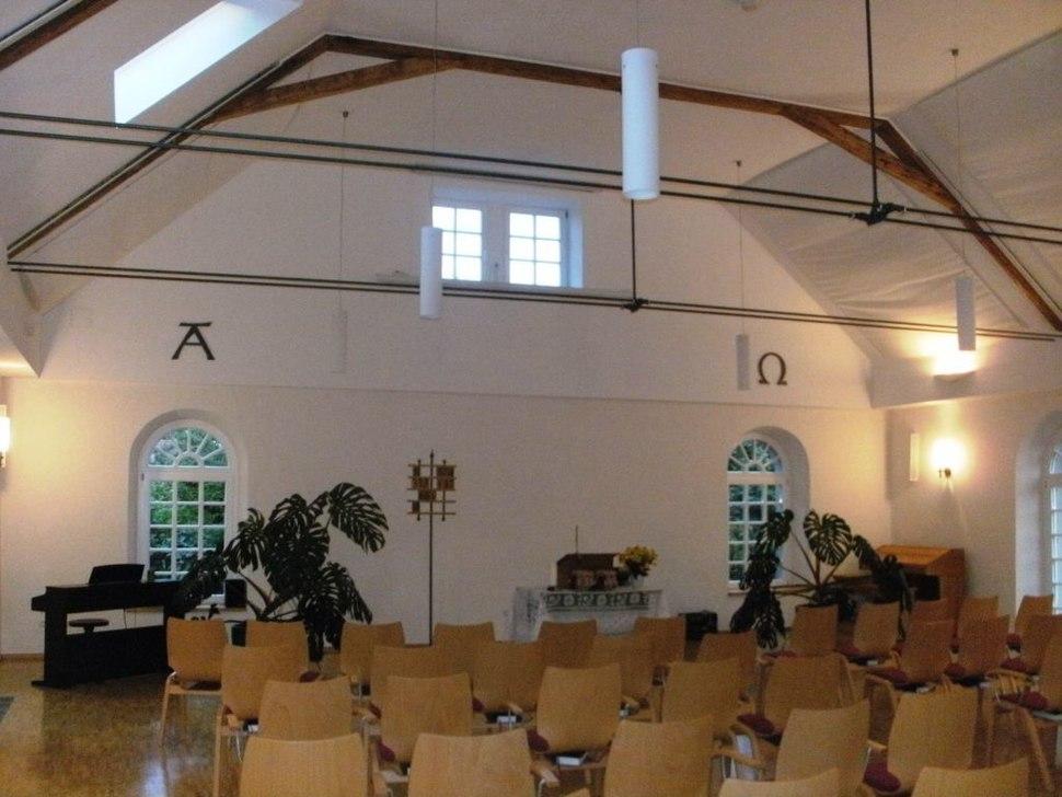 Mennonitenkirche Friedelsheim Innen