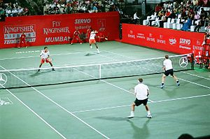 Cricket Club of India - The Men's Doubles finals in 2007