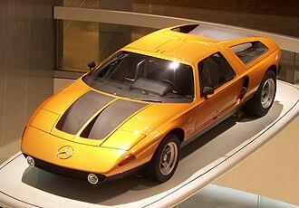 Mercedes-Benz C111 - Mercedes-Benz C111/II at the Mercedes-Benz Museum
