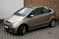 Mercedes-Benz car of type W169 (