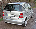 Mercedes A140 Classic Fun 20090329 rear.jpg