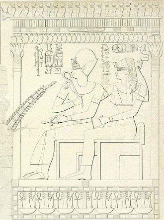 Merytre-Hatshepsut - Image: Merytre tomb of Ra