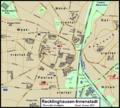 Messtischblatt 25 Recklinghausen-Innenstadt Stadtplan.png