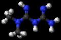 Metformin molecule ball.png