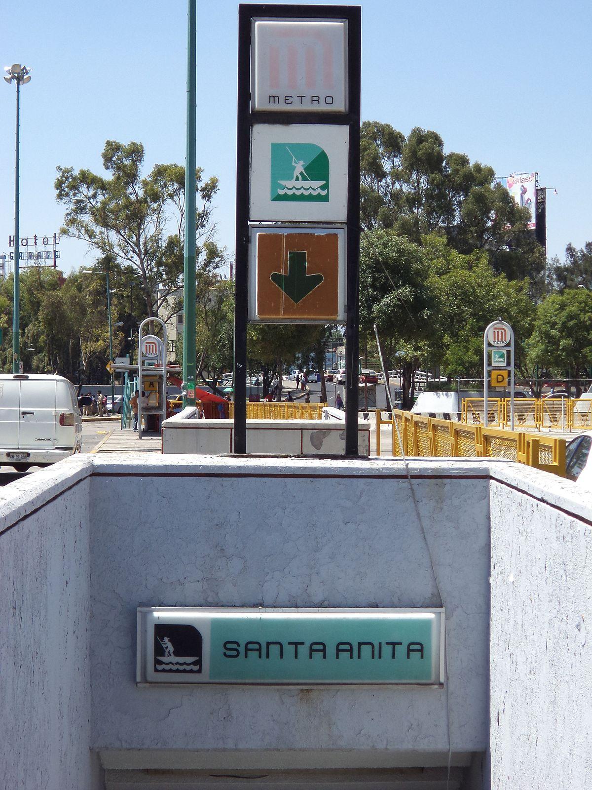 Santa Anita Estaci 243 N Wikipedia La Enciclopedia Libre
