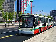 Metrobús at Avenida Insurgentes.