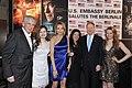 Michael Naumann, Kimberly Emerson, Ambassador John B Emerson, and Jacqueline Emerson at the 2016 Berlinale party.jpg
