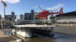 File:Microflite Helicopter Services (VH-JBY) Eurocopter EC-120B Colibri landing on the North Wharf helipad.webm