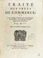 Mignot - Traité des prêts de commerce, 1738 - 269.tif