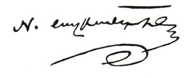 Mikayel Nalbandian signature