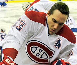 Michael Cammalleri - Cammalleri with the Canadiens in March 2011.