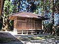 Mikoshiden of Kashima Amatarashiwake-jinja shrine.JPG