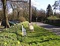Milestone on the B2130, Winkworth, Busbridge - geograph.org.uk - 148737.jpg