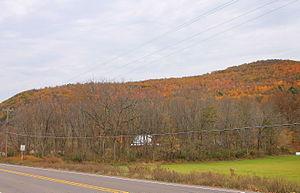 Eaton Township, Wyoming County, Pennsylvania - Miller Mountain in Eaton Township, Wyoming County, Pennsylvania
