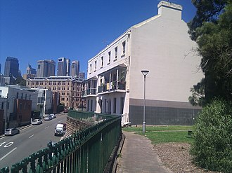 7-13 Dalgety Road, Millers Point - 7-13 Dalgety Road, pictured in 2012.