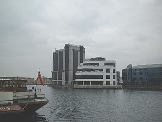 Millwall - A March 2004 view of the Millwall Docks