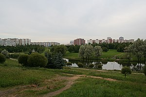 Minsk View on Prospekt Lyubimova.jpg