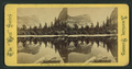Mirror Lake, Mts. and Reflections, Yosemite Valley, California, from Robert N. Dennis collection of stereoscopic views.png