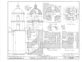 Mission San Luis Rey de Francia, Mission Road, Oceanside, San Diego County, CA HABS CAL,37-OCSI.V,1- (sheet 10 of 25).png