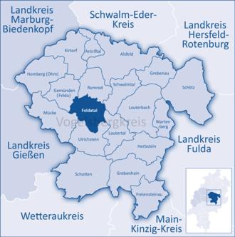 Feldatal - Image: Mittelhessen Vogelsberg Fel