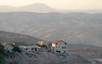 Mitzpe Yeriho - Mitzpe Yeriho in the Judean Desert (Mar. 2008)