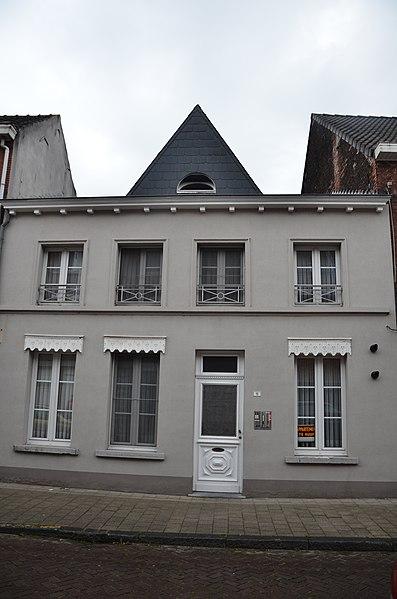 Dorpswoning neoclassicisme XIX, Molenbergstraat 15, Rumst