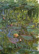 Monet - Water Lilies (Nympheas), Gunma.jpg