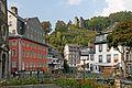 Monschau Blick auf Rotes Haus, Haller und Altstadthäuser.jpg