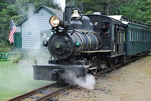 Sandy River and Rangeley Lakes Railroad - Image: Monson No 3